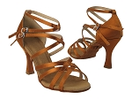 S9206 Copper Tan Satin Vegan