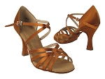 S9216 Copper Tan Satin Vegan