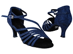 2824LEDSS 67 Glitter Dark Blue Illusion Satin