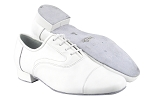 916102 White Leather_Whole Shoes