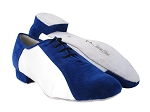 BB915109LEDSS Blue Suede_80 White Satin