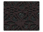 118 Knitted Black Stardust