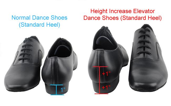 Elevator high heel shoes for men,Men's hidden heel shoes ...