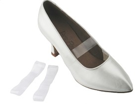 Clear Elastic Shoe Straps