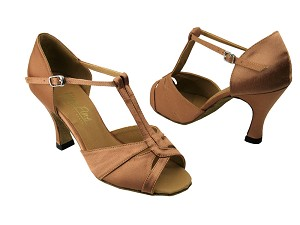 1703 Brown Satin