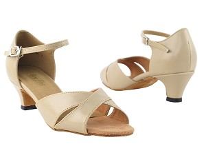 6029 Tan Leather & Cuban Heel