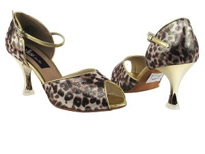 CD3009 Brown Leopard