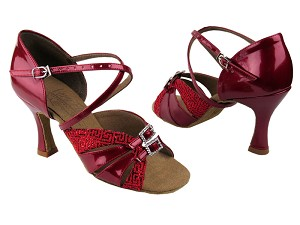 S92307 Red Pearl & Patent