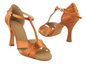 SERA1144 Dark Tan Satin