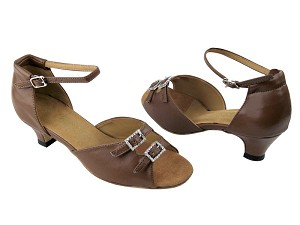 1620 133 Coffee Brown Leather