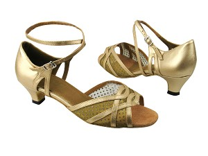 1657 57 Light Gold Leather_108 Mesh