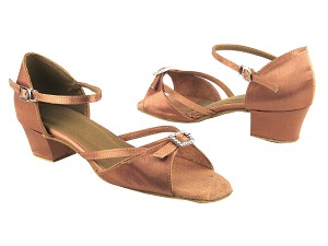 1720 81 Brown Satin
