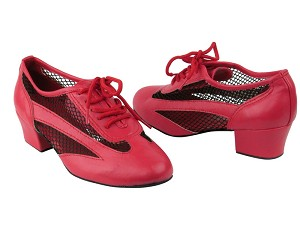 2009 Red Leather_Black Mesh