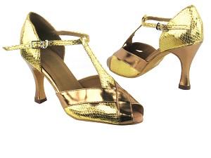 2703 226 Gold Snake_B_S_116 Gold Patent_T_H