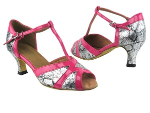 2712 250 Silver Snake_260 Pink Patent