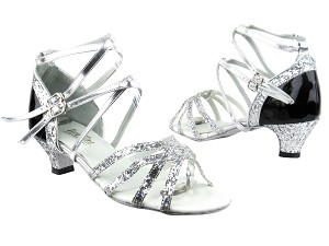 5008Mirage Silver Sparkle_F_T_H_Black Patent_B_Silver Leather BackStraps