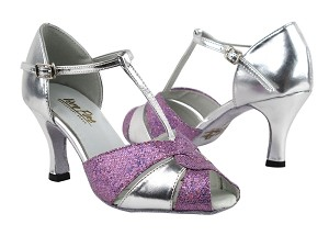 6006 190 Purple Scale_X_55 Silver Leather