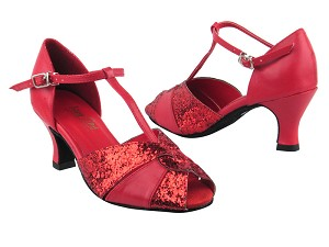 6006 211 Red Leather_10 Red Sparkle_X
