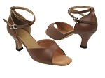 6012 133 Coffee Brown Leather