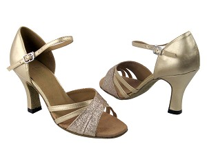 6030 125 Gold Stardust & 57 Light Gold Leather