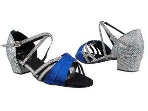 6030 247 Gem Blue Satin_172 Grey Scale_1650 BackStrap