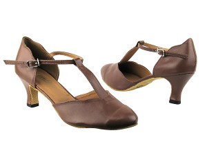 6819 133 Coffee Brown Leather