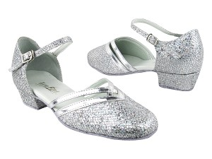 8881 6 Silver Sparklenet_Silver Leather Trim