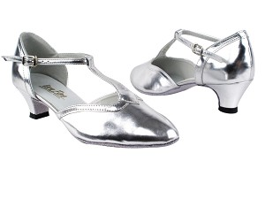 9627 55 Silver Leather_Whole Shoes