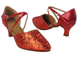 C9691 37 Red Sparkle_F_H_264 Red Patent_B