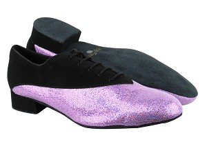 2504 Black Nubuck_190 Purple Scale