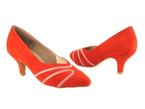 CD5504 Red Suede