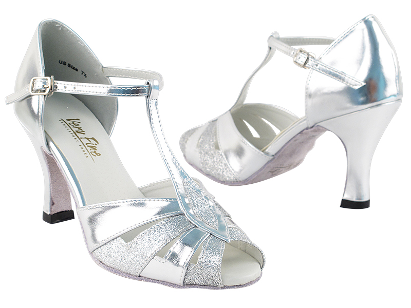 ce6695d8ed843 2702 Silver Stardust & Silver Leather