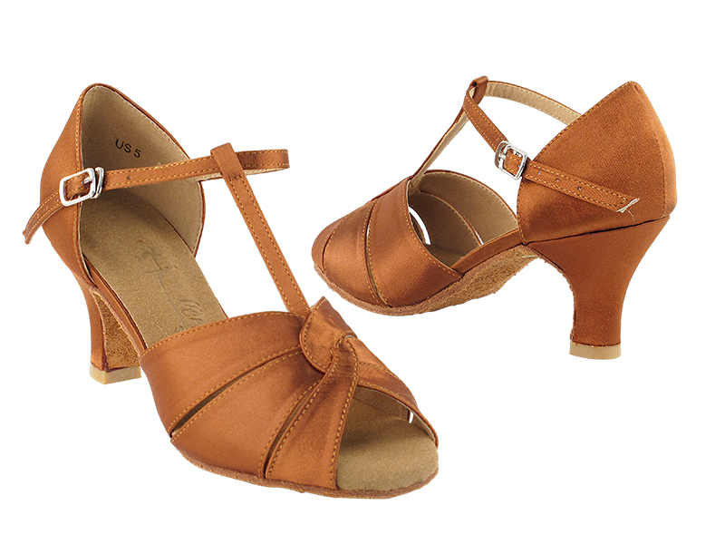 SERA6006 Dark Tan Satin
