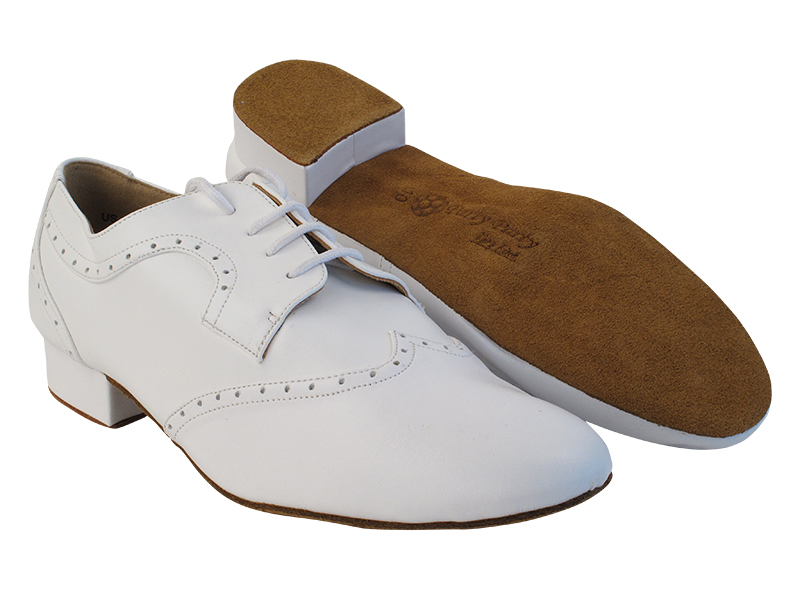 PP302 White Leather with 1