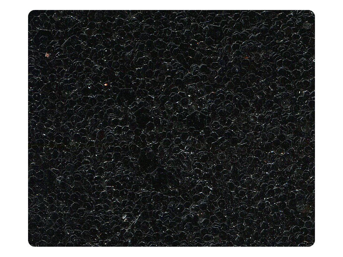 12 Black Sparkle Fabric Swatch
