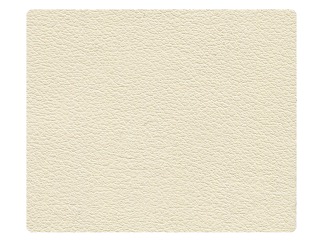 15 Creamy White Leather Fabric Swatch