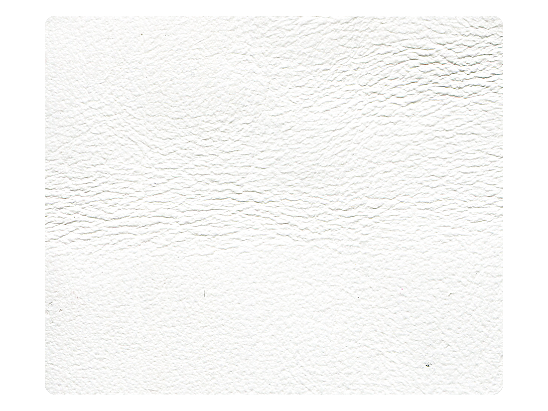 18 White Leather Fabric Swatch