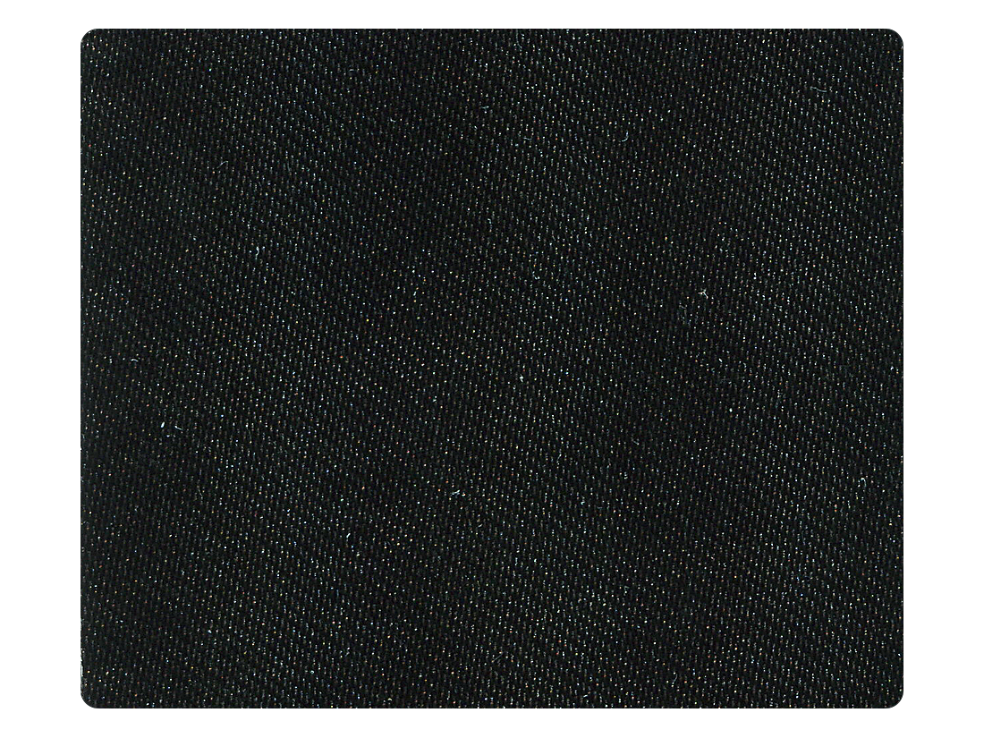 38 Black Satin Fabric Swatch
