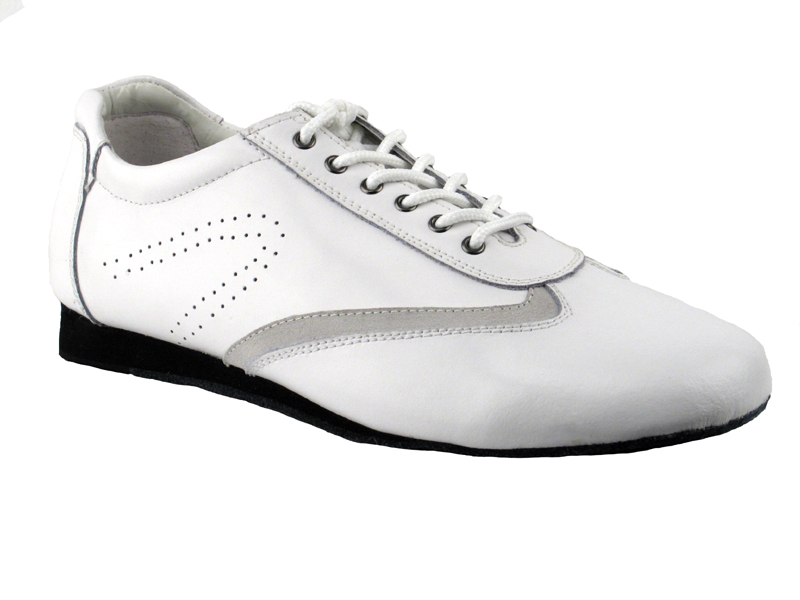 SERO104 White Leather
