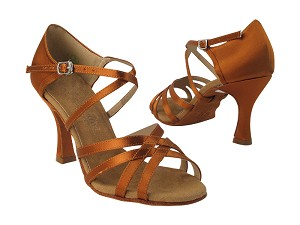 C1606 Copper Tan Satin