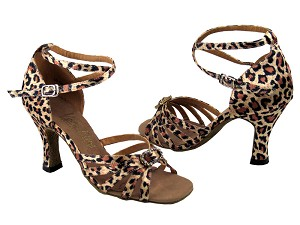 "6005 Leopard & Stone with 3"" Heel in the photo"