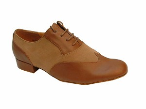 M100101 Coffee Brown & Brown Nubuck