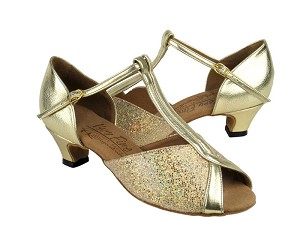 S2804 Gold Scale & Gold & Cuban Heel
