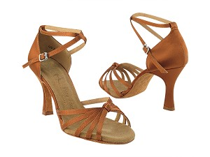 SERA6005 Dark Tan Satin