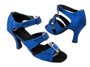 "1679 234 Blue Stardust with 3"" heel in the photo"