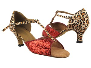 5004 Red Sparkle_F_152 Leopard Satin_B_T