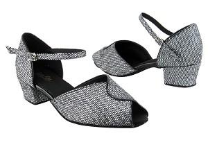 6028 Black Sparklenet_Black Trim 1_5in